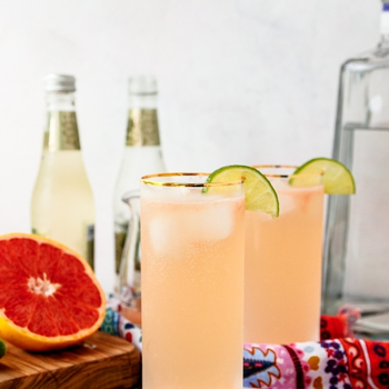 Ginger Paloma Cocktail