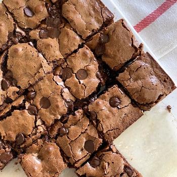 Deep Dark Brownies