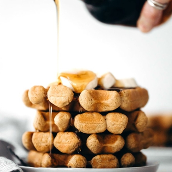 Easy Chickpea Flour Waffles