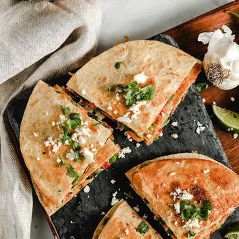 Vegetarian Quesadillas – Quick and Easy!