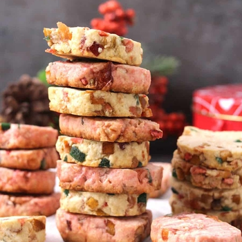 CANDIED FRUIT COOKIES | KARACHI BISCUITS