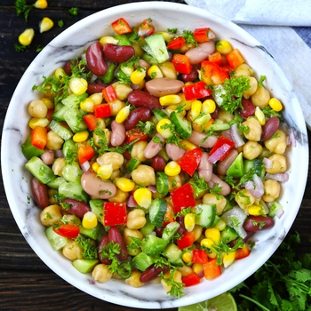 Mixed Beans Salad – Mexican Style!