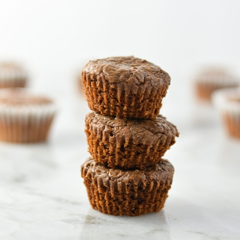 3 Ingredient Mini Nutella Muffins