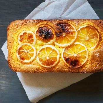 Lemon Turmeric Tea Cake