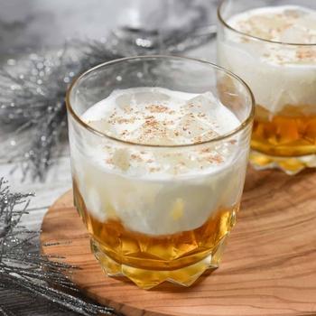 Maple Beam and Cream Cocktail