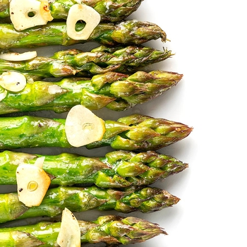 Air Fryer Asparagus Buttery and Quick!
