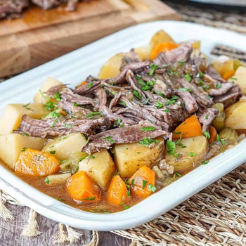 Slow Cooker Chuck Roast