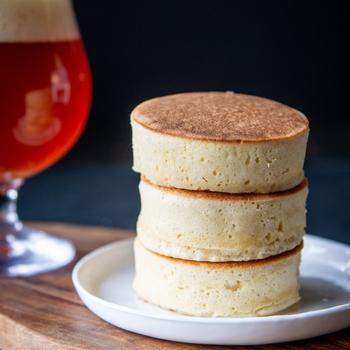 Japanese Beer Pancakes