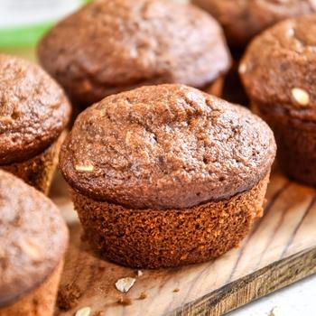 Oatmeal Applesauce Blender Muffins
