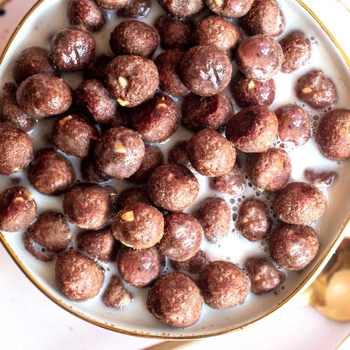 Low Carb Cocoa Puffs (4 Ingredients!)