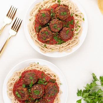 Vegan Meatballs (Gluten-free & Easy)