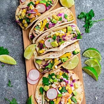 Easy Salmon Tacos