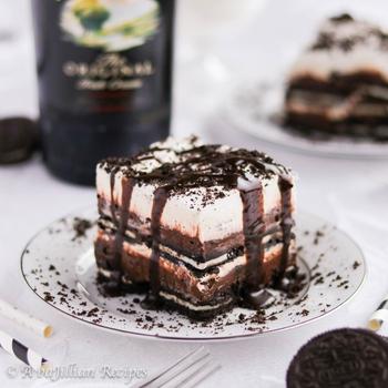 Irish Cream Dessert Lasagna