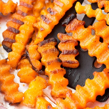 Cinnamon Roasted Butternut Squash Zig Zags