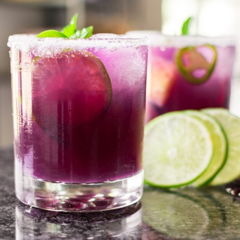 Spicy Hibiscus Pineapple Cocktail