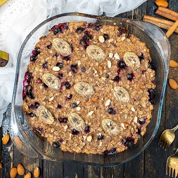 Protein-Rich Baked Oatmeal