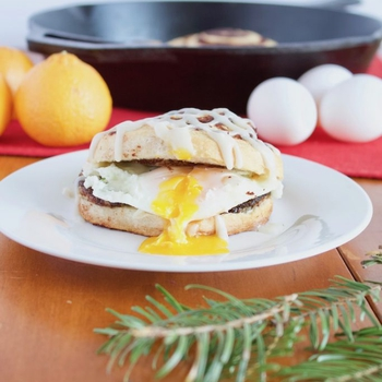 Christmas Morning Breakfast Sandwiches