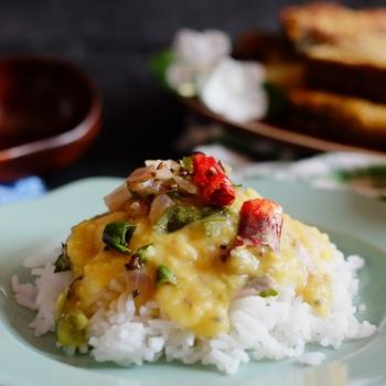 9-Ingredient Vegan Yellow Lentil Curry | Easy Peasy Dal | Simple Tuvaram Paruppu Kulambu