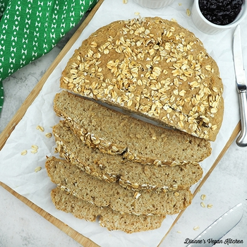 Vegan Soda Bread for St. Patrick's Day