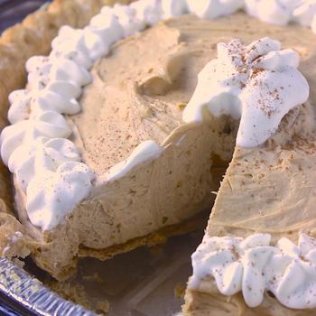Biscoff Cookie Butter Pie