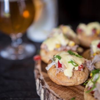 Crab Tarts with Saison Béarnaise Sauce