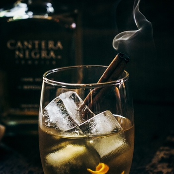 A Stunning Winter Tequila Cocktail