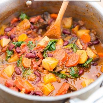 Easy Comforting Vegan Stew