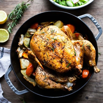 How to Roast a Whole Chicken!
