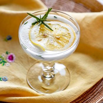 Rosemary Lemon Vodka Fizz