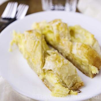 Lemon Cream Cheese Puff Pastry Braid (step-by-step photos)