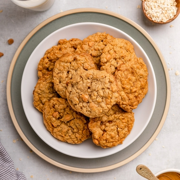 Cookie Butter Oatmeal Scotchies