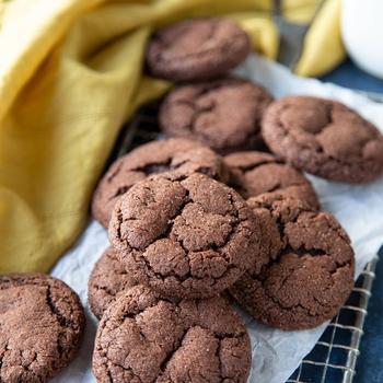 Chocolate Snickerdoodle Cookies