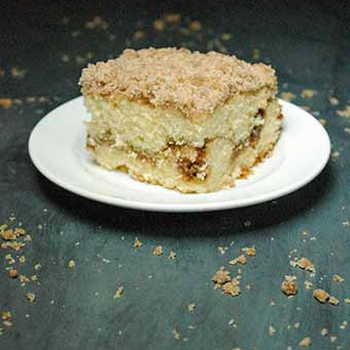 The Best Cinnamon Streusel Coffee Cake