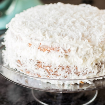 Best Ever Coconut Cake