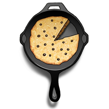 10-Inch Skillet Cookie + Cookbook Clubs