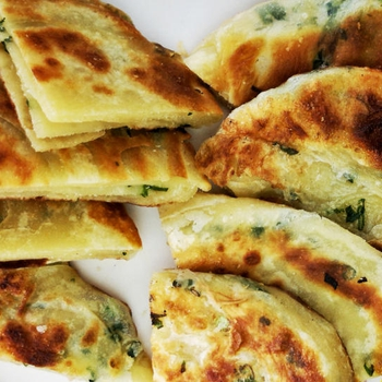Scallion Pancake – How to make it crispy and fluffy