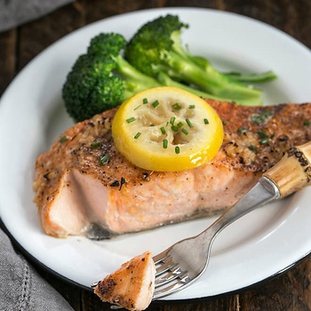 Paleo Roasted Salmon