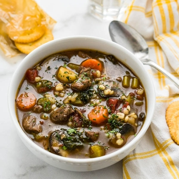 Classic Beef Barley Soup