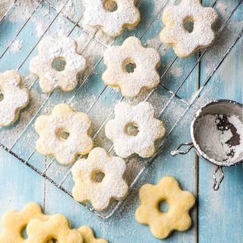 Canestrelli (Italian Egg Yolk Cookies)