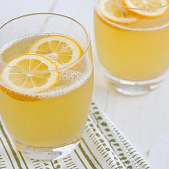 Sparkling Meyer Lemonade by OhMyVeggies.com
