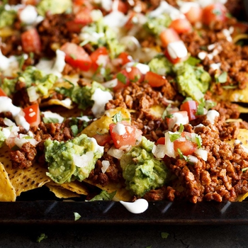 CRAZY Easy Loaded Homemade Nachos (vegan and gluten free options included!)