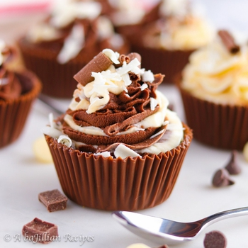 Triple Chocolate Mousse Cups