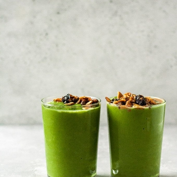 My Favorite Creamy Green Smoothie