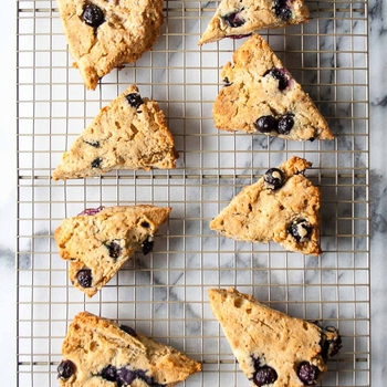 Mother's Day Paleo Blueberry Scones