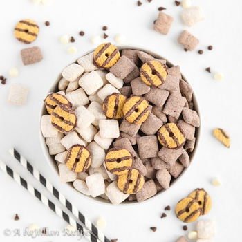 Black And White Cookie Puppy Chow