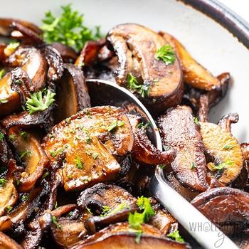 Sauteed Mushrooms in Garlic Butter