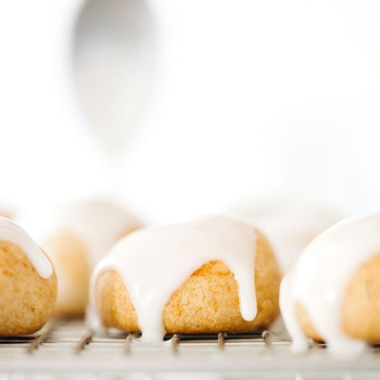 Puffy Glazed Lemon Cookies